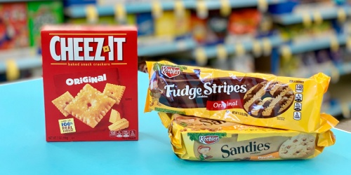 Cheez-Its & Keebler Crackers + Cookies Only $1.49 Each at Walgreens (Starting 9/1)