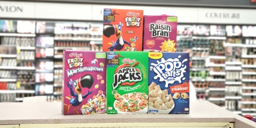 Kellogg's Cereal as Low as $1.39 Each at Walgreens (Starting 8/25)