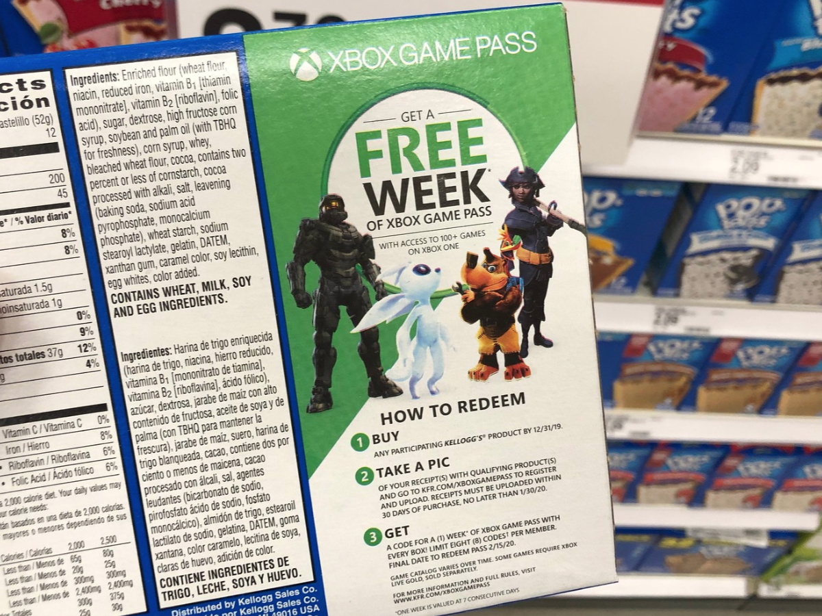 Kellogg S Pop Tarts 12 Count Box Only 2 35 At Target Free Xbox