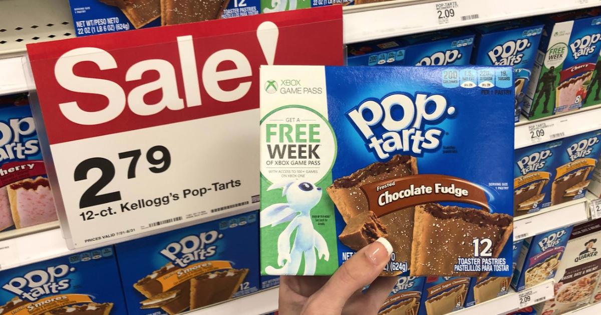 Kellogg's Pop Tarts at Target FREE xbox game pass