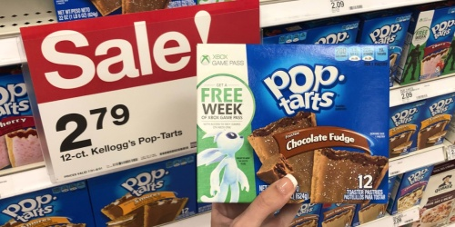 Kellogg's Pop-Tarts 12-Count Box Only $2.35 at Target + FREE Xbox Game Pass