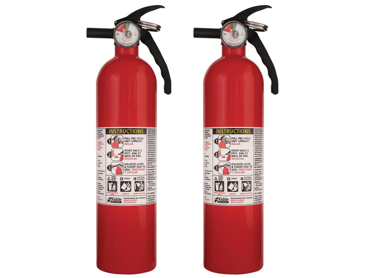 kidde fire extinguisher 2 pack