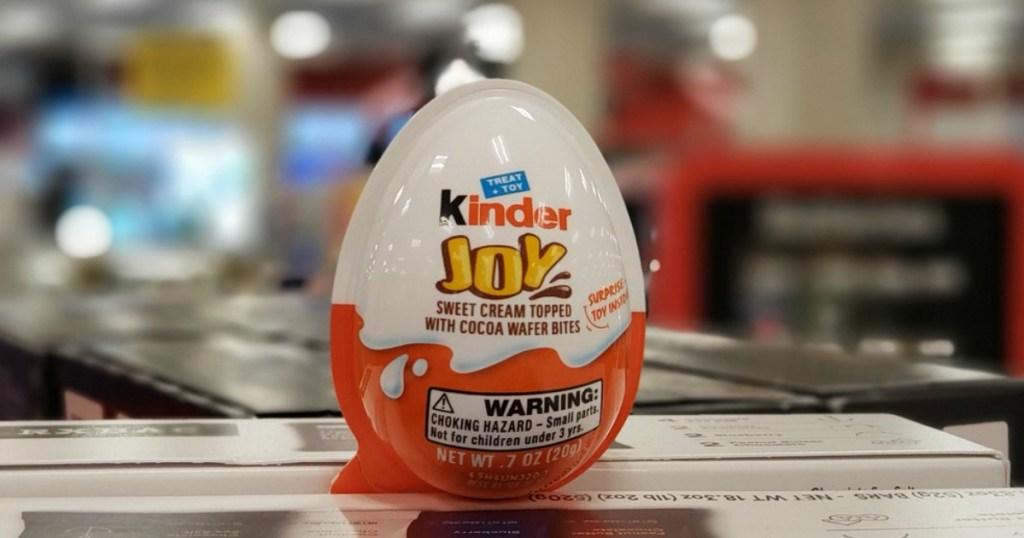 Kinder Joy egg in store