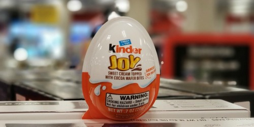 Kinder JOY Eggs 15-Count Only $12.48 on Amazon (Just 83¢ Each)