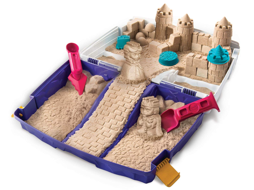 Kinetic Folding Sand Box with 2lbs of Kinetic Sand