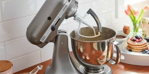 KitchenAid Tilt-Head 5-Quart Mixer w/ Flex Edge Beater Only $229.99 Shipped (Regularly $500)