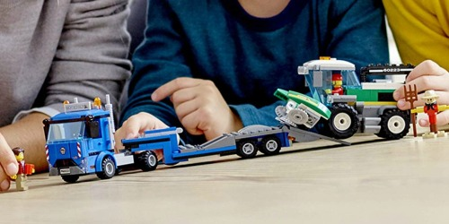 LEGO City Great Vehicles Harvester Transport Set Just $16.99 (Regularly $30)