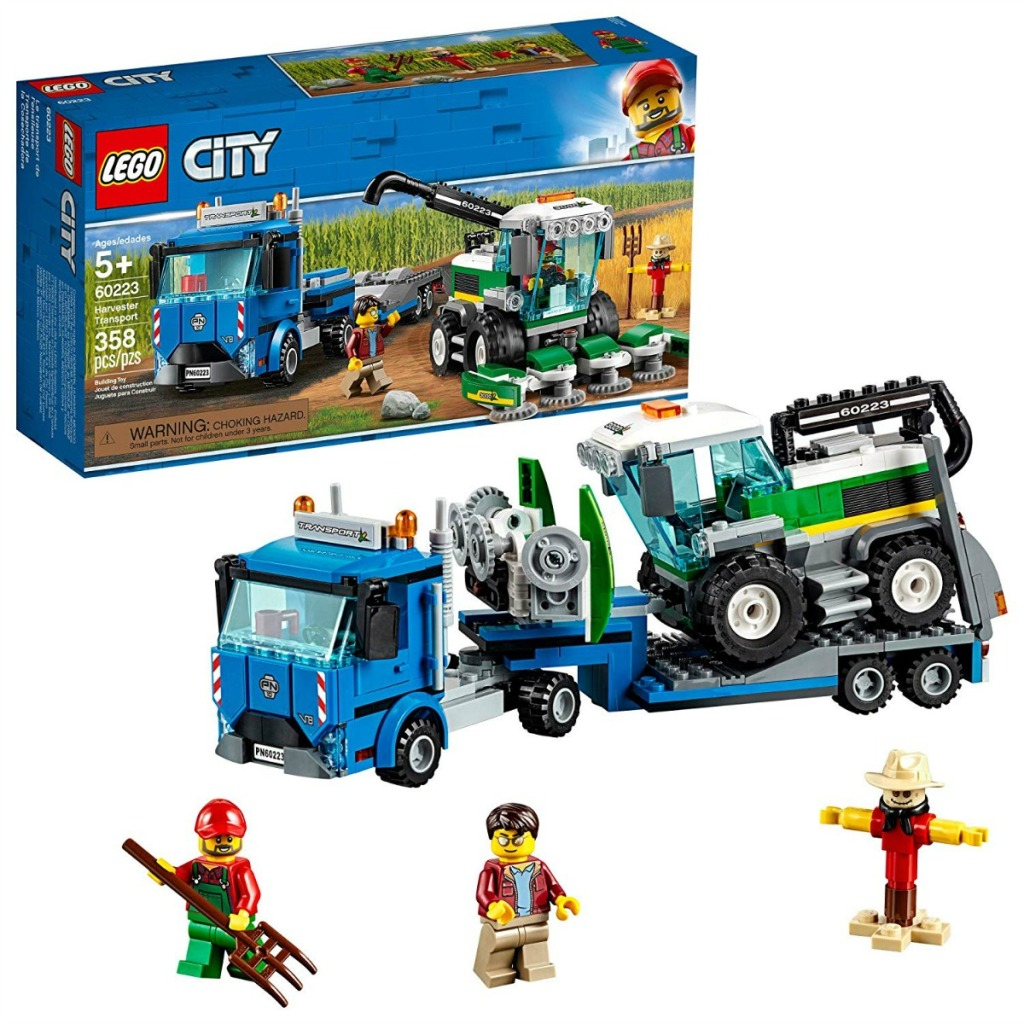 LEGO City Great Vehicles Harvester Transport set box and contents