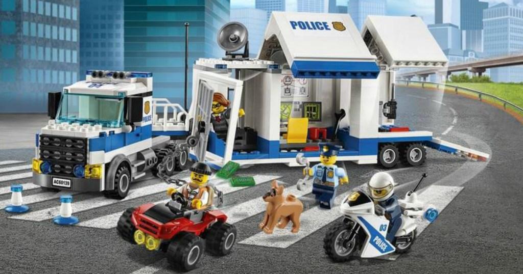 lego city police mobile command center set