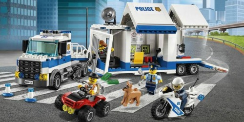 LEGO City Police Mobile Command Center Just $29.99 Shipped (Regularly $50)
