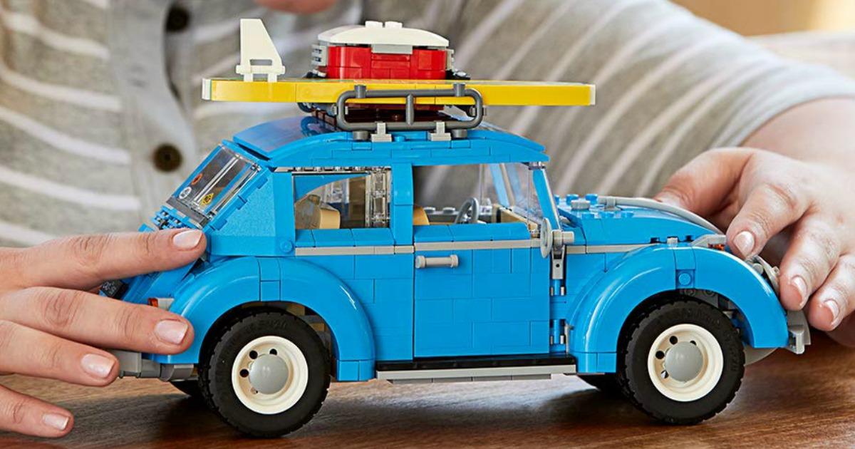 Volkswagen Beetle LEGO Set constructed