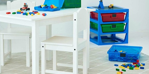 LEGO Rack System Just $31.99 at Zulily | Organize & Sort LEGO Bricks or Toys