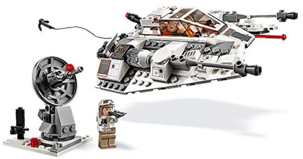 put together LEGO Star Wars 20th Anniversary Edition Snowspeeder