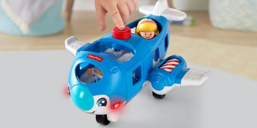 Fisher-Price Little People Travel Together Airplane Only $9.84 (Regularly $15)