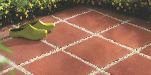 Square Concrete Patio Stones Only $1 Each at Lowe's