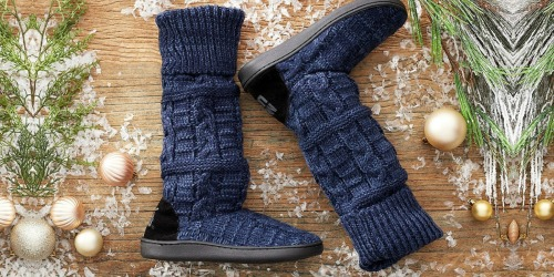 MUK LUKS Slipper Boots as Low as Only $11 Each (Regularly $31)   Perfect for Fall Weather