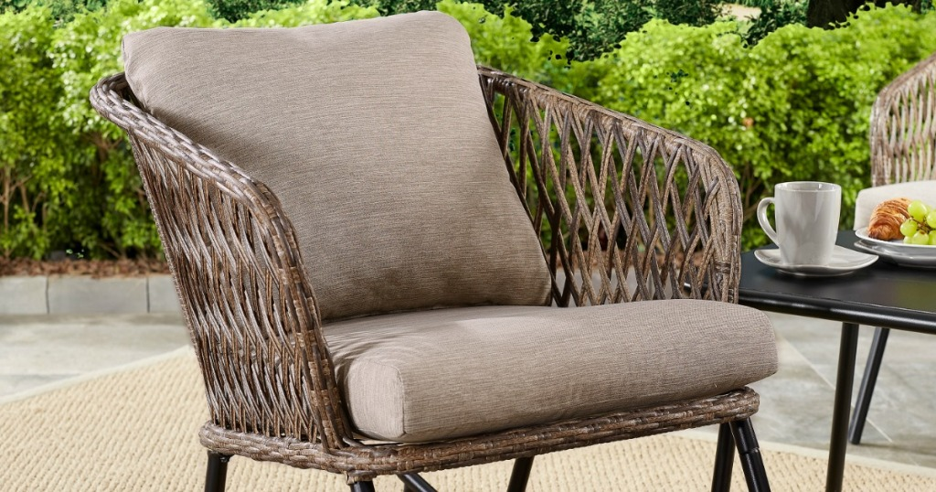 Mainstays Patio Rocking Chair Just 55
