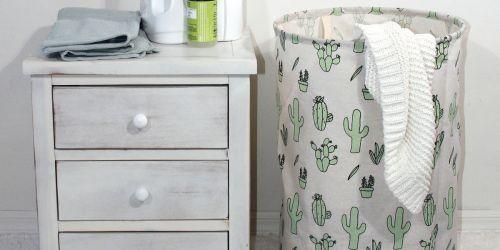 50% Off Mainstays Laundry Hampers at Walmart.com