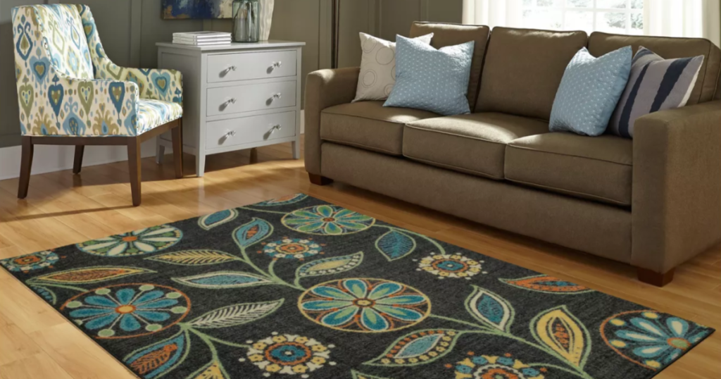 Maples Floral Winslow Tufted Rug