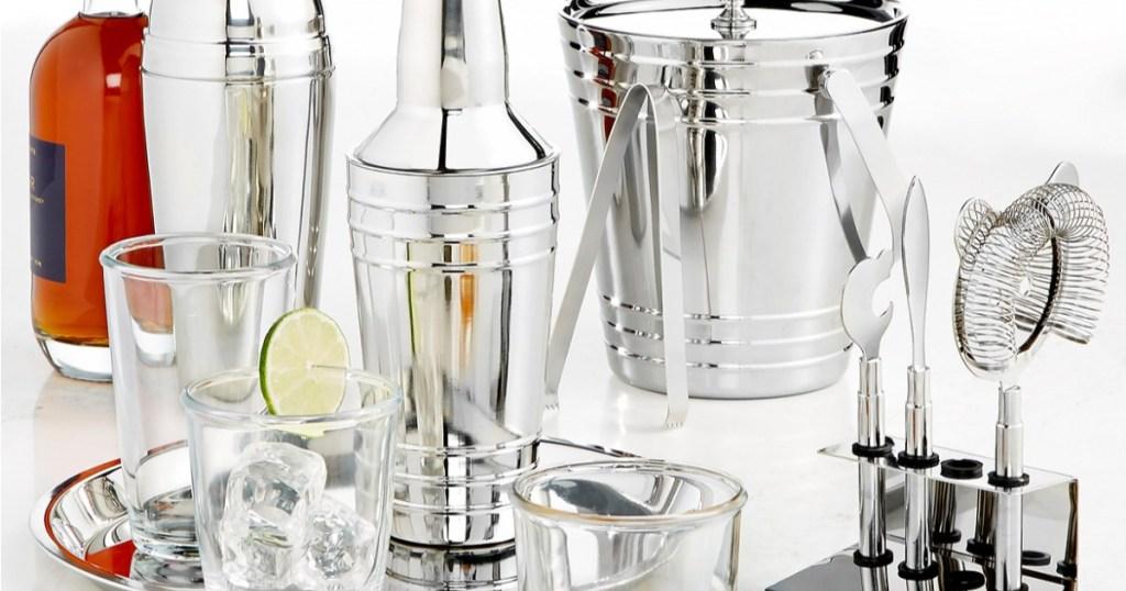 martha stewart collection barware