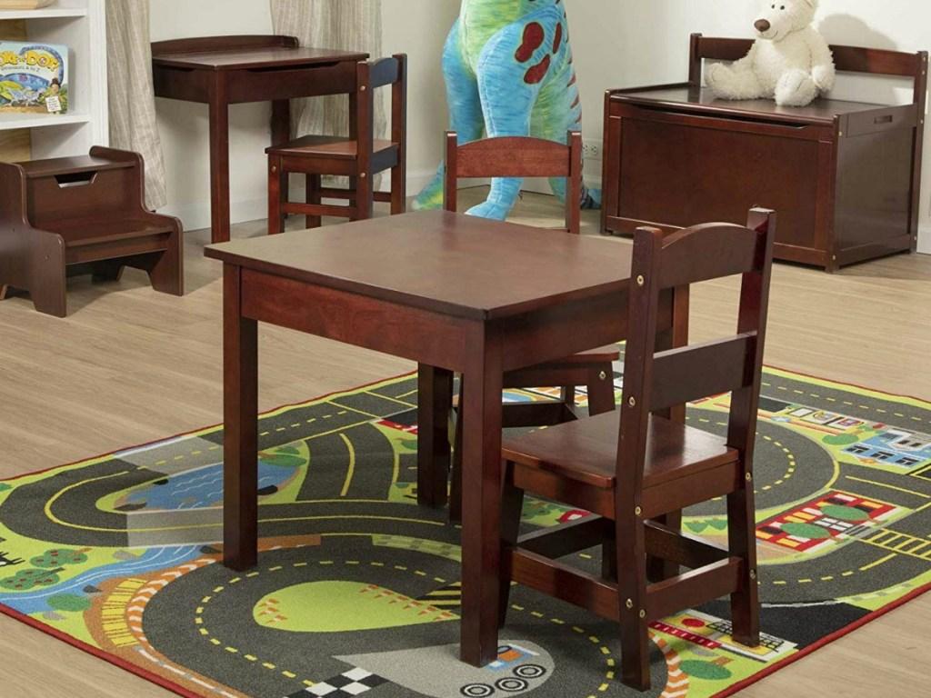 Super Melissa Doug Kids Lift Top Desk Chair Just 49 99 Dailytribune Chair Design For Home Dailytribuneorg