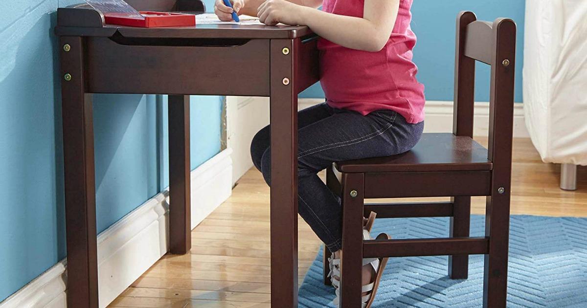 Excellent Melissa Doug Kids Lift Top Desk Chair Just 49 99 Dailytribune Chair Design For Home Dailytribuneorg