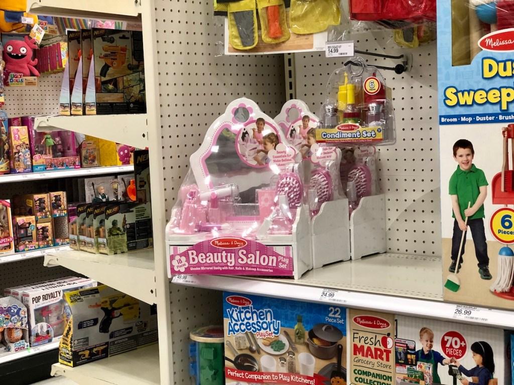Melissa & Doug Salon at Target