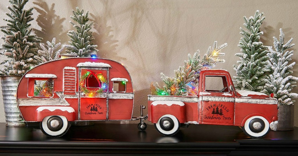 Metal Christmas.Pre Lit Vintage Christmas Collection Has Arrived At Sam S Club