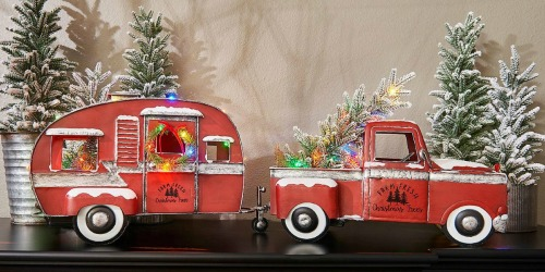 Pre-Lit Vintage Metal Christmas Truck, Van & Camper Have Arrived at Sam's Club | High Chance of Selling Out