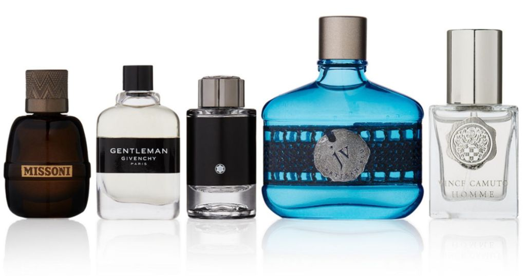 Men's 5-Piece The Scents For Gents Fragrance Gift Set For Him