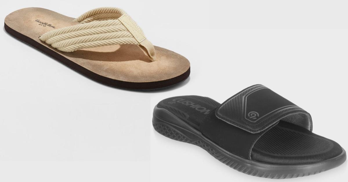 mens sandals at target