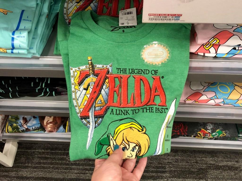 Men's Zelda Graphic T-shirt