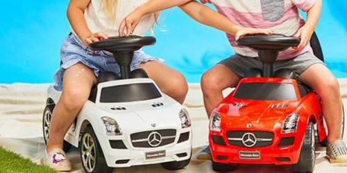 Mercedes & Range Rover Ride-On Cars Just $29.99 at Zulily (Regularly $90)