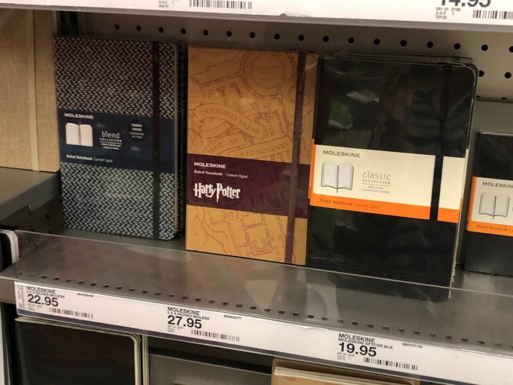 Moleskine Harry Potter Notebook at Target