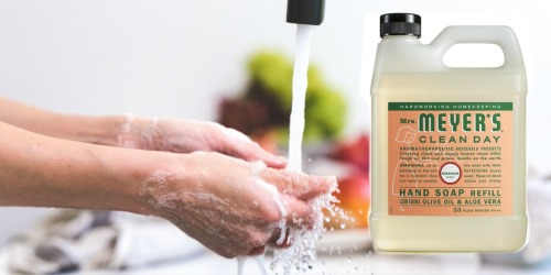 Mrs. Meyer's Liquid Hand Soap Refill Only $5.69 Shipped at Amazon (Regularly $9)