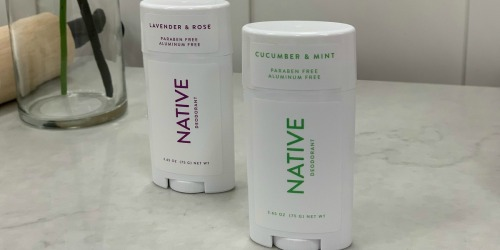 Native Deodorants 3-Pack Only $23.94 Shipped on Amazon | Aluminum & Paraben Free