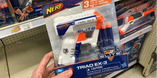 NERF N-Strike Elite Triad Blaster Only $3.49 (Regularly $8+)