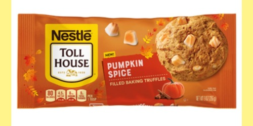 Nestlé Toll House Pumpkin Spice-Filled Baking Truffles Will Up Your Holiday Baking Game