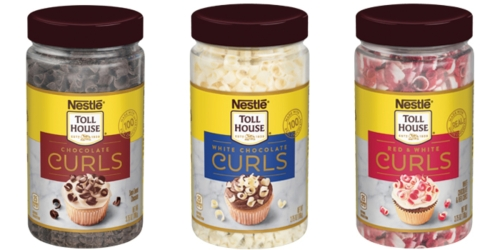 Nestle's New Chocolate Curls Take Baked Goodies, Desserts & Drinks to the Next Level