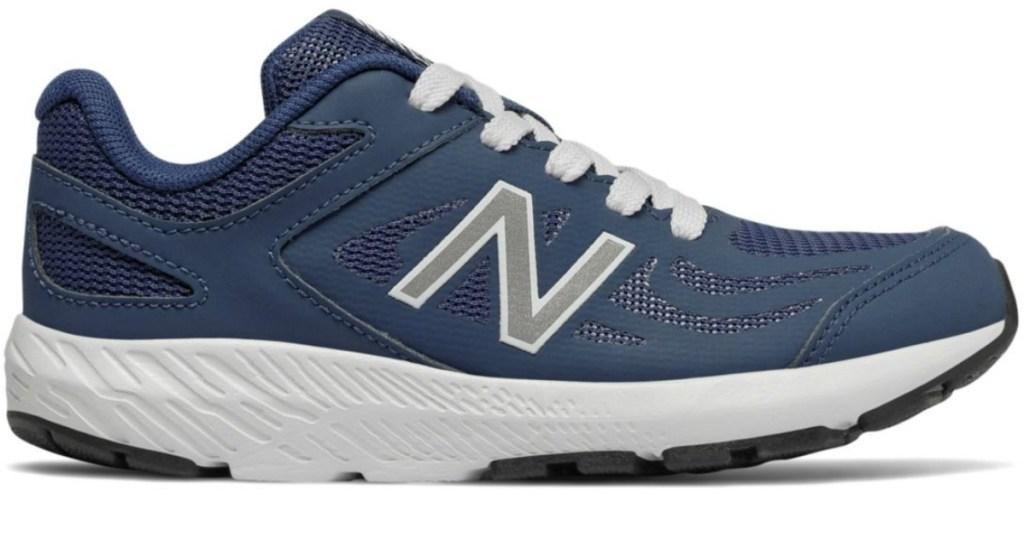 navy New Balance Boys 519 Shoes