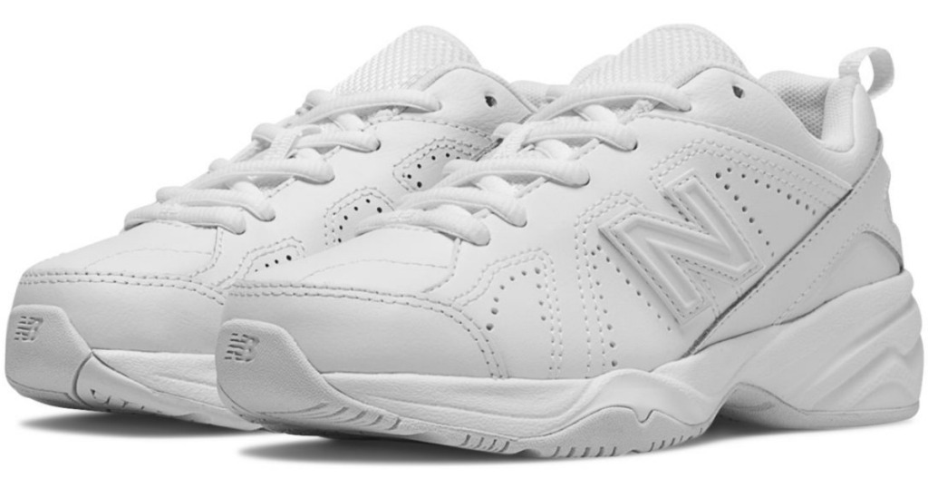 white new balance kids sneakers