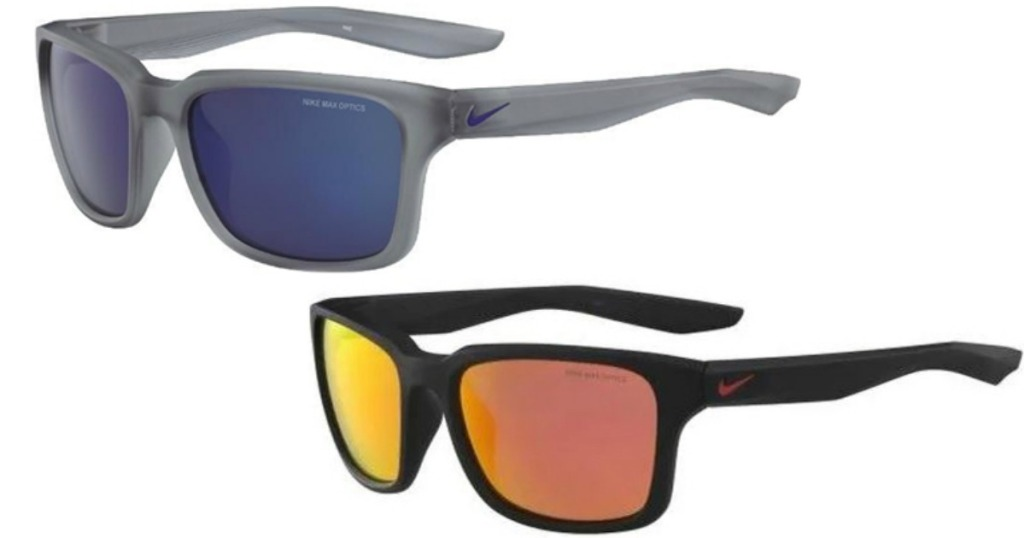 Two colors of Nike Sport Spree Sunglasses