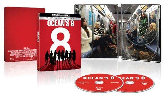 Ocean's 8 movie and steelbook