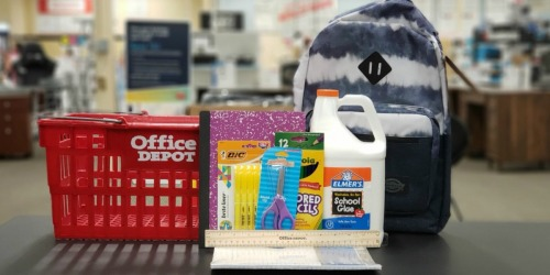 Office Depot School Supply Deals 8/4-8/10 | FREE Batteries, $10 Backpacks & More