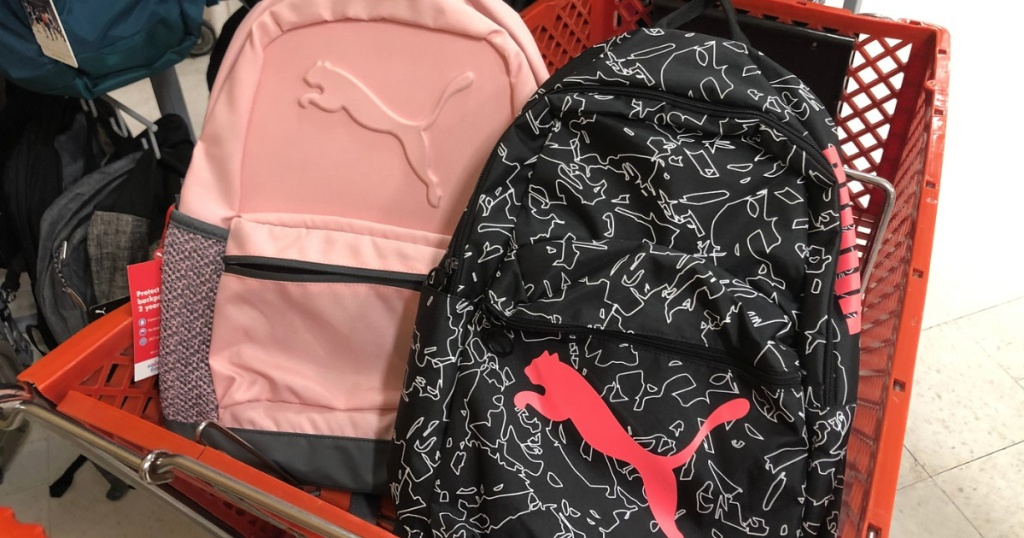 Office Depot/Office Max School Backpacks in shopping cart
