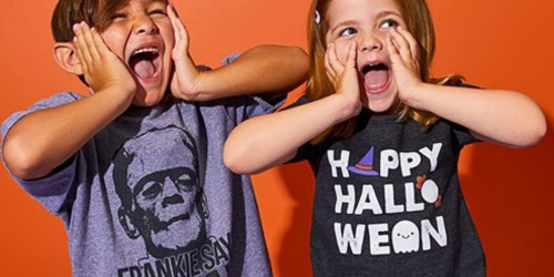 Halloween Kids Tees as Low as $9.99 Shipped