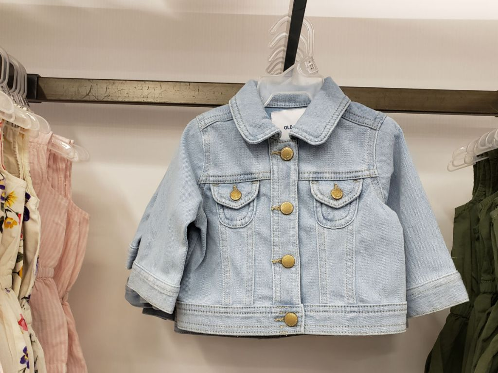 Old Navy 24_7 Jean Jacket for baby at store