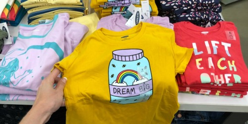 Old Navy Tees for the Family as Low as $3 (Regularly up to $16)