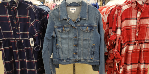 Old Navy Women's & Girls Jean Jackets Only $10-$15 (Regularly $25-$40)