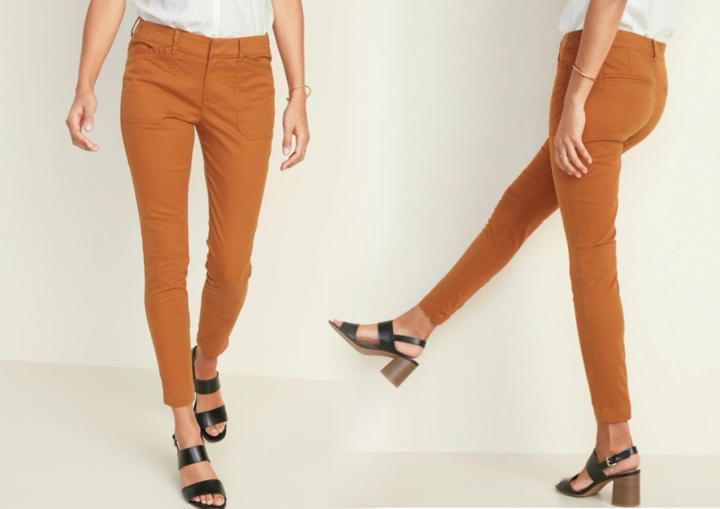 Women's Chino style pants from Old Navy